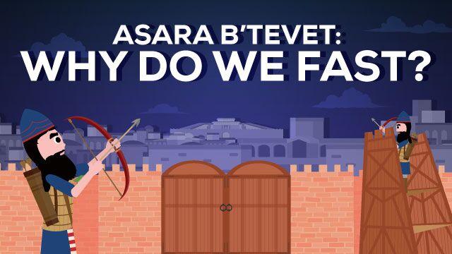 Why Do We Fast On Asara B'Tevet?