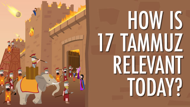 Fast of 17 Tammuz meaning