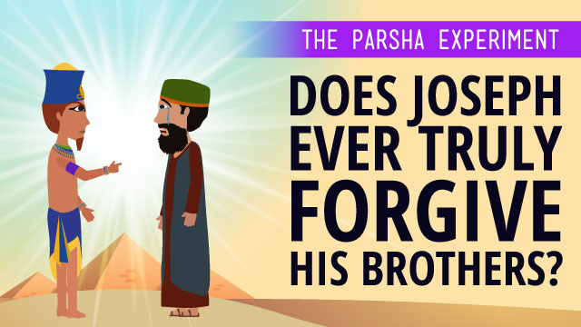 Does Joseph Ever Truly Forgive His Brothers?