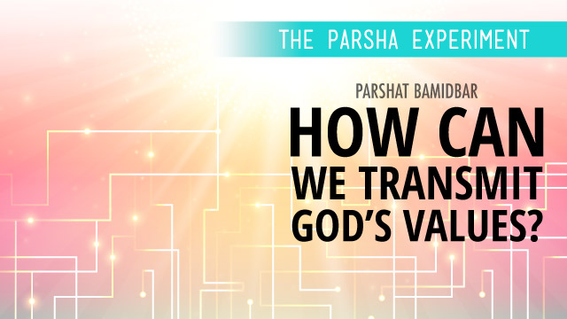 How Can We Transmit God's Values?