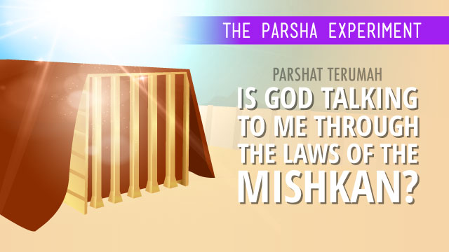 Is God Talking To Me Through The Laws Of The Mishkan?