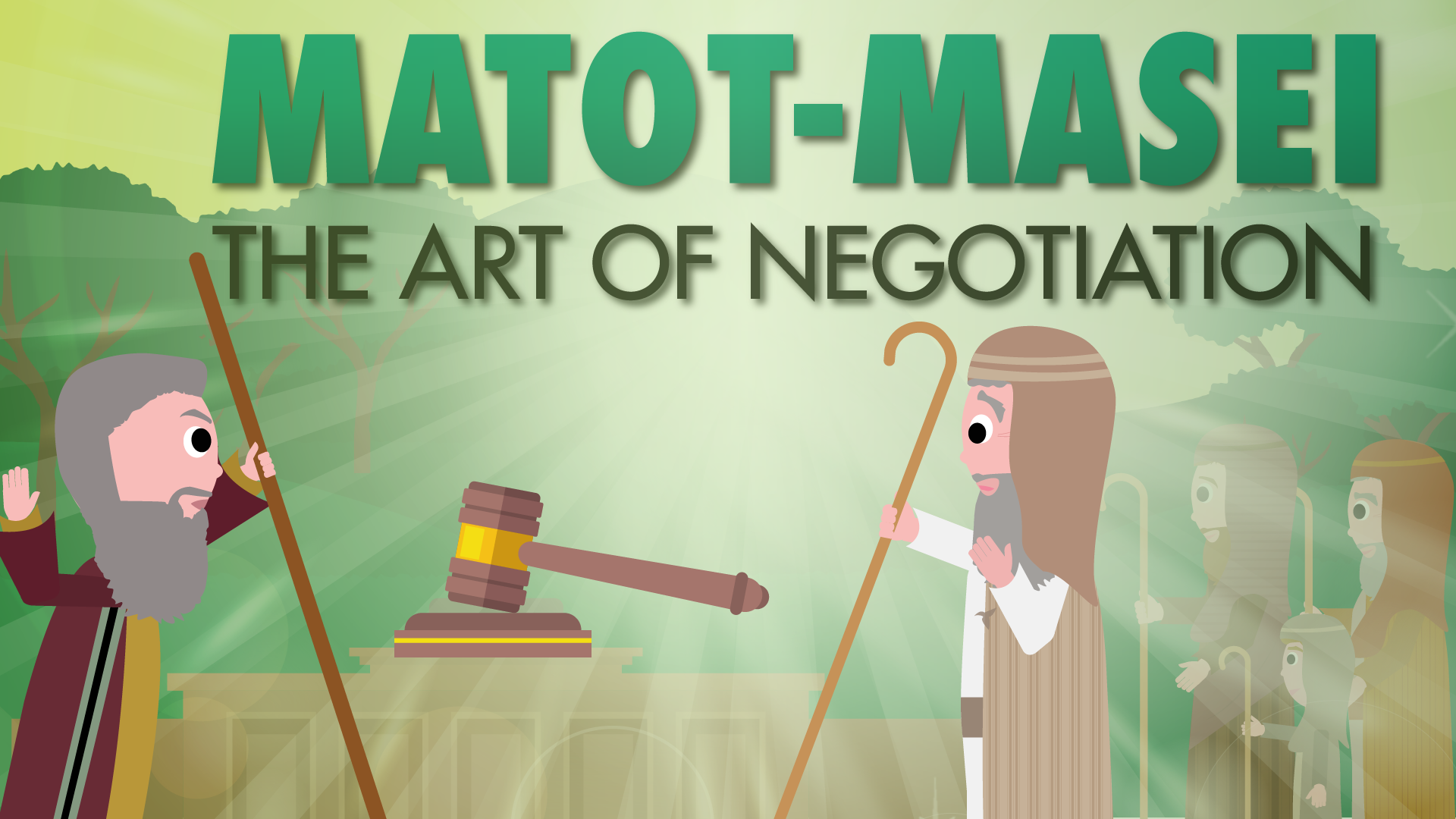 Matot-Masei: The Art of Negotiation