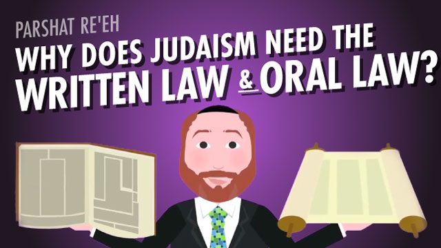The Difference Between Written Law And Oral Law