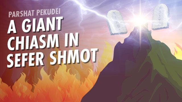 A Giant Chiasm In Sefer Shmot
