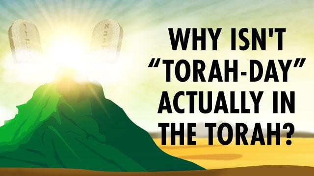 "Why Isn't ""Torah-Day"" Actually In The Torah?"