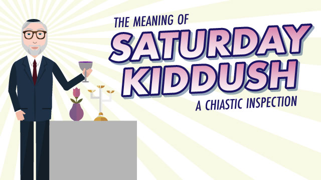 The Meaning of Saturday Kiddush: A Chiastic Inspection