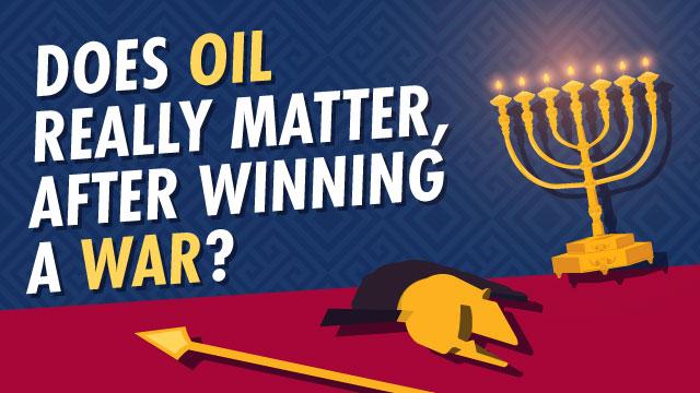 Does Oil Really Matter, After Winning A War?